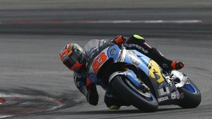 Tito Rabat sobre su Honda del Marc VDS Racing Team