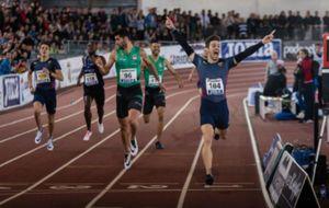 Husillos superó la marca de los 400 metros lisos