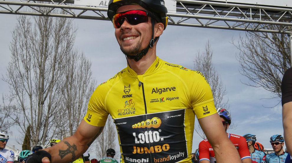 Primoz Roglic, ganador de la Volta al Algarve.