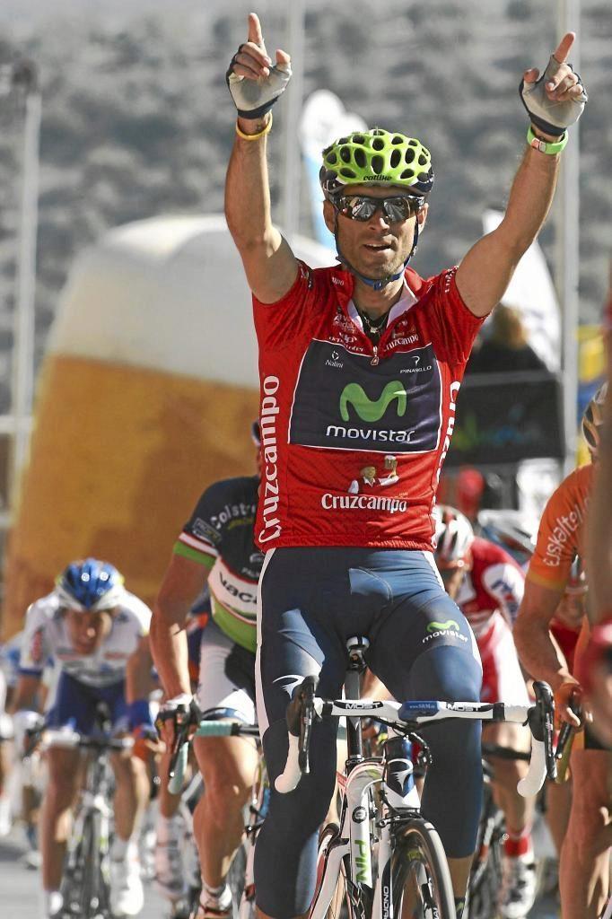 En 2012 ganó la primera Vuelta a Andalucía de las cinco que brillan...