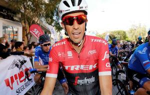 Alberto Contador en la Vuelta a Andalucía.