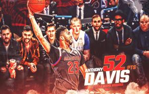 Anthony Davis, MVP del All Star NBA 2017 de Nueva Orleans