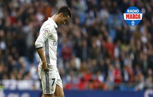 Cristiano Ronaldo durante el partido contra el Espanyol
