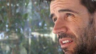 David Albelda durante la entrevista con MARCA.