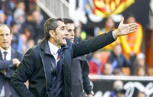 Valverde afronta su partido 87 como técnico en competiciones...