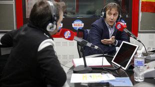 Julen Lopetegui, durante la entrevista de este martes en Radio MARCA.