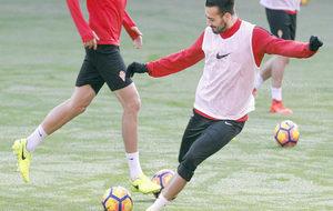 Xavi Torres en un entrenamiento.