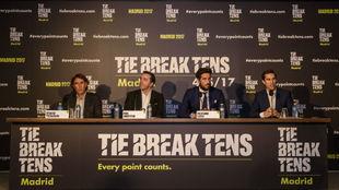 Presetación del evento 'Tie Break Tens' en la Caja Mágica.