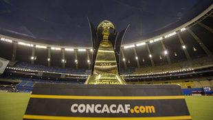 Así es la Copa que se llevará el campeón de la Concachampions.