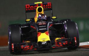 Max Verstappen, durante el GP de Abu Dabi