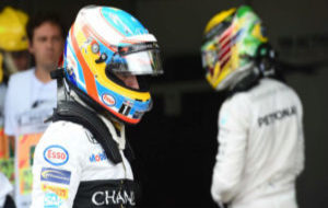 Fernando Alonso, tras un GP en esta temporada