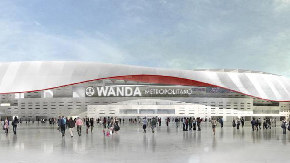 Peligra la inauguración del Wanda Metropolitano por falta de accesos