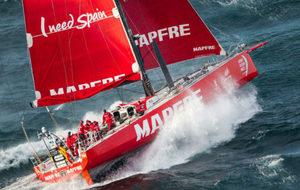 Pablo Arrarte, jefe de guardia del MAPFRE en la Volvo Ocean Race