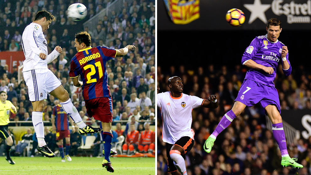 Cristiano Ronaldo replicates Copa del Rey winning header ...