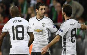 Mkhitaryan celebrando su gol