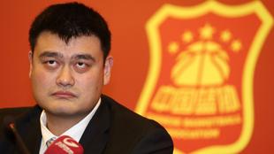 Yao Ming, nuevo presidente de la Federación China de baloncesto