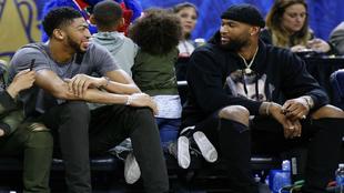 Cousins y Davis se miran durante el pasado All Star