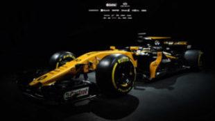 Así es la impactante imagen del nuevo coche de Renault para la F1.