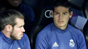 James, en el banquillo ante el Espanyol