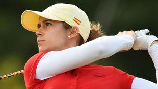 Azahara Muñoz durante los Juegos Olímpicos de Río.