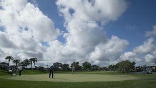 Campo de golf en Palm Beach Gardens.