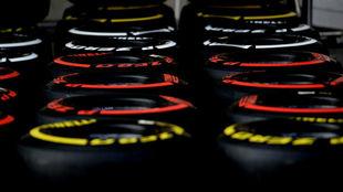 Compuestos de Pirelli de la pasada temporada