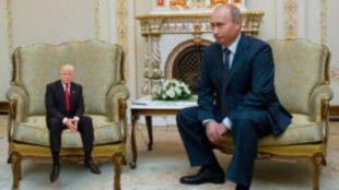 MiniTrump y Vladimir Putin