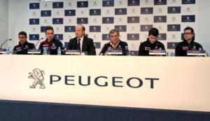 Presentación de Peugeot en Madrid