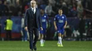 Ranieri, tras el partido ante el Sevilla.
