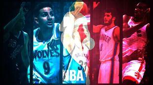 Las mejores imágenes de una noche que tuvo hasta ocho jugadores...
