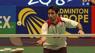 Pablo Abián, en un partido.
