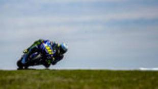 Valentino Rossi, durante los pasados test de Phillip Island