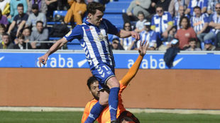 Ibai Gómez marcó el gol del empate tras una gran acción individual.