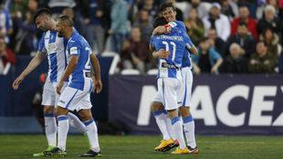 El Leganés logró su mejor triunfo en LaLiga y su récord de...