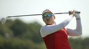 Amy Yang durante los Juegos Olímpicos de Río de Janeiro.