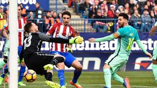 Messi volvió a ver puerta
