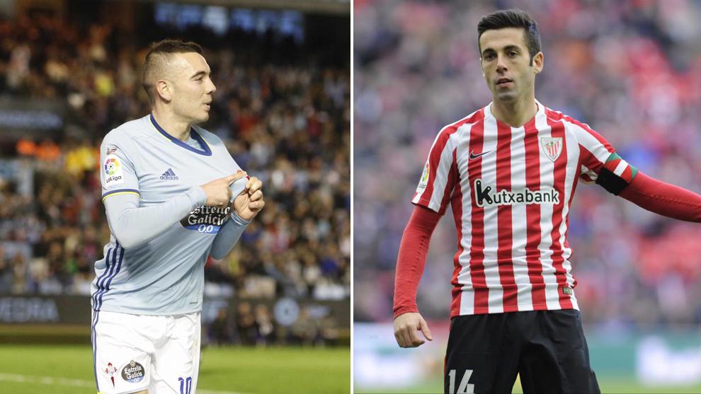 Aspas y Susaeta, goleadores y decisivos para Celta y Athletic