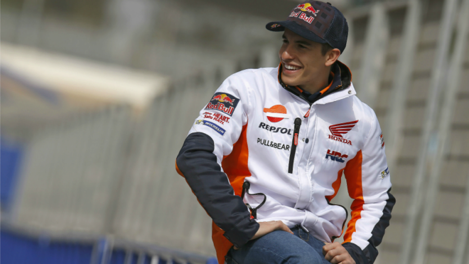 Marc Márquez, en Jerez.