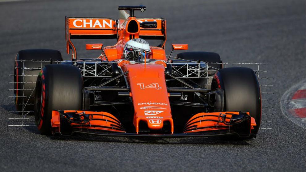 Fórmula 1: Alonso rueda con el nuevo motor en Montmeló   Marca.com