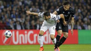 El brasileño en un partido contra la Juventus.