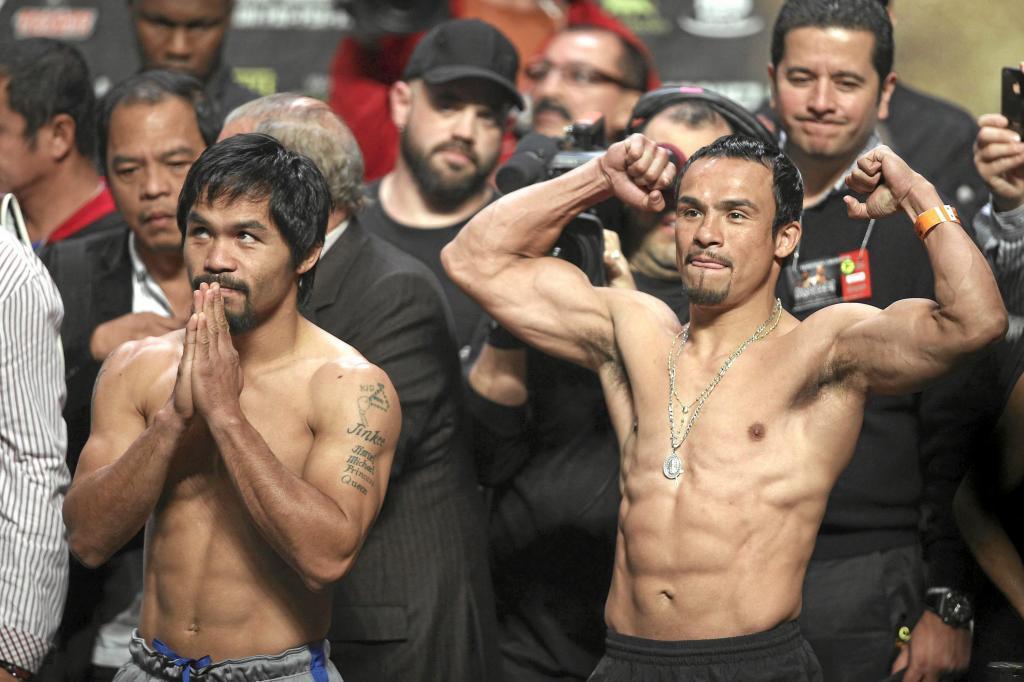 Manny Pacquiao y Juan Manuel Márquez