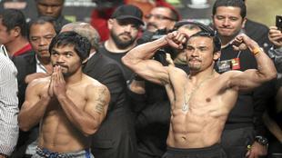 Manny Pacquiao y Juan Manuel M�rquez