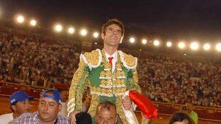 José Tomás en 2007, la última vez que se anunció en Algeciras.