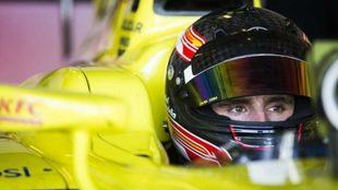 Juncadella, en un test de F1.