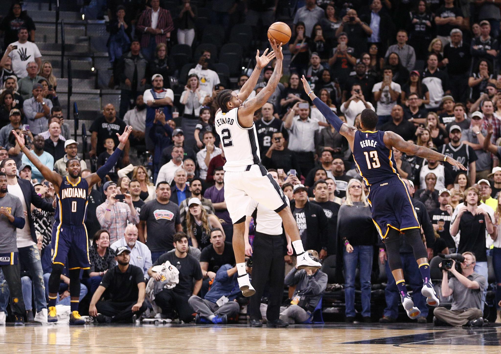 Spurs Vs Pacers: Pau Gasol Domina Con Los Spurs En El