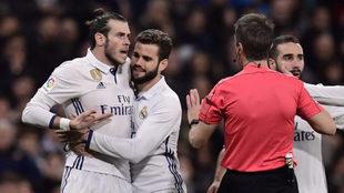 Gareth Bale fue expulsado por doble amarilla y no podr� jugar el...