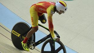 Juanjo Méndez en los Juegos Paralímpicos de Río.