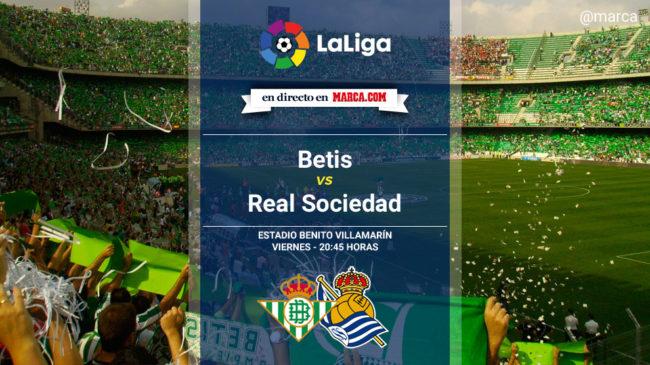 Betis vs Real Sociedad en directo