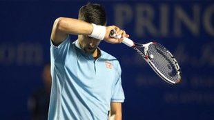 Novak se despidió de su primera vez en Acapulco.