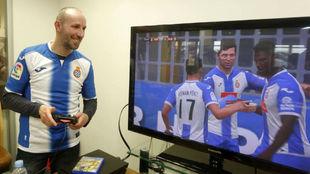 Rafael Roales, capit�n del equipo perico de PlayStation4.